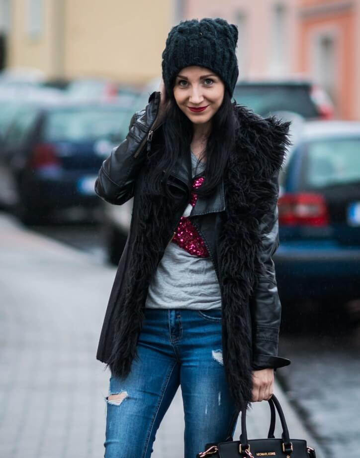 Distressed Jeans im Winter - Yay oder nay?