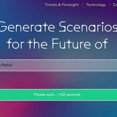 Screenshot des Future Generator