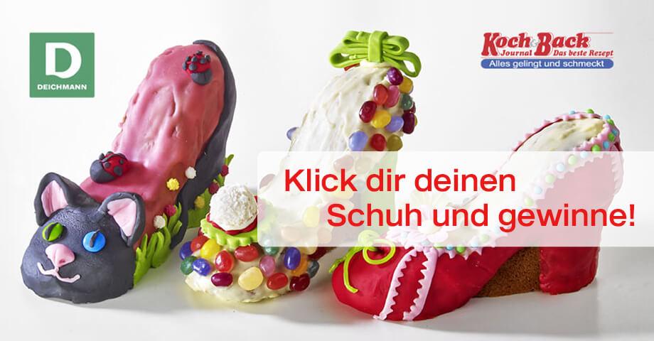 Mitmachen und gewinnen shoelove by deichmann for Koch 6 backjournal
