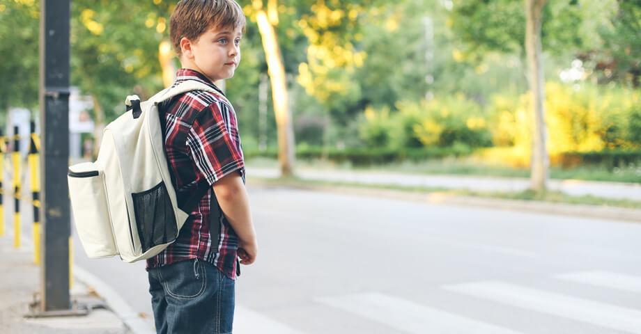 Poprvé do školy