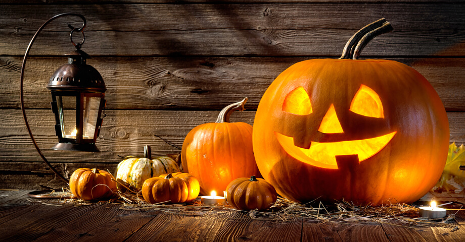 Uzijte si s detmi halloween