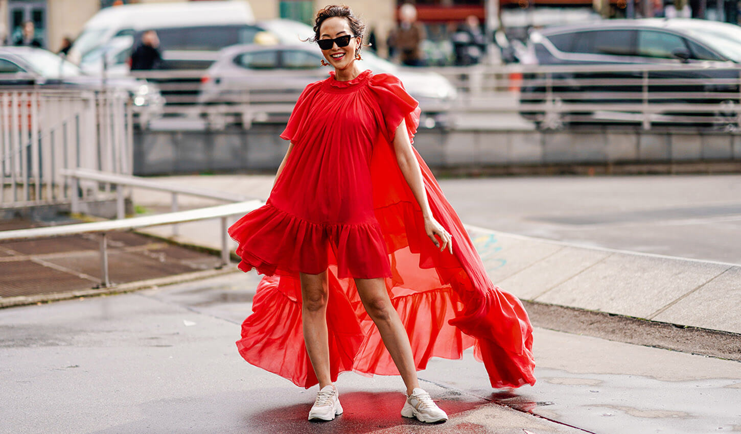 Sneaker-Trend Streetstyle Chriselle Lim