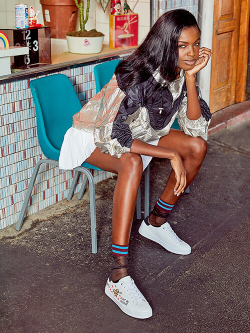Fashion-Blogger Leomie Anderson