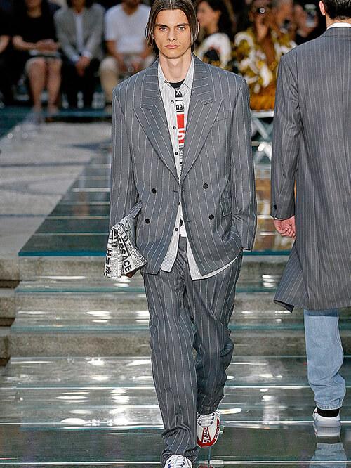 Modeblogger Runway Versace
