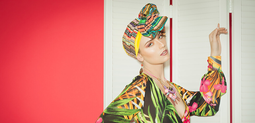 Sommer-Style Turban