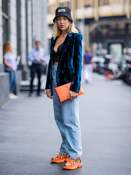 Sneaker-Trend Streetstyle Mailand, Sonia Lyson