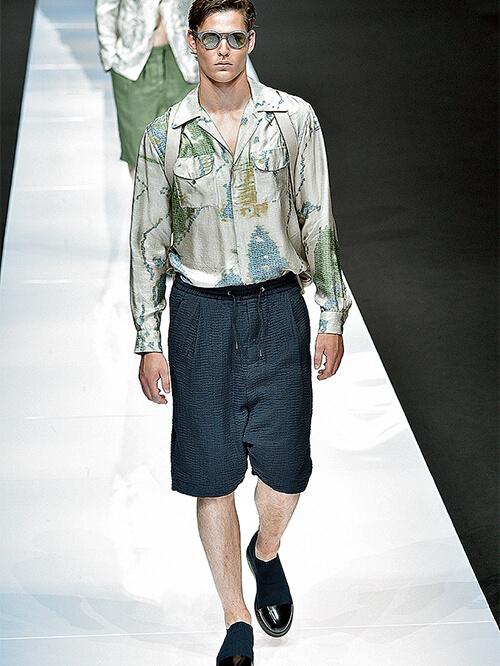 Modeblogger Runway Giorgio Armani