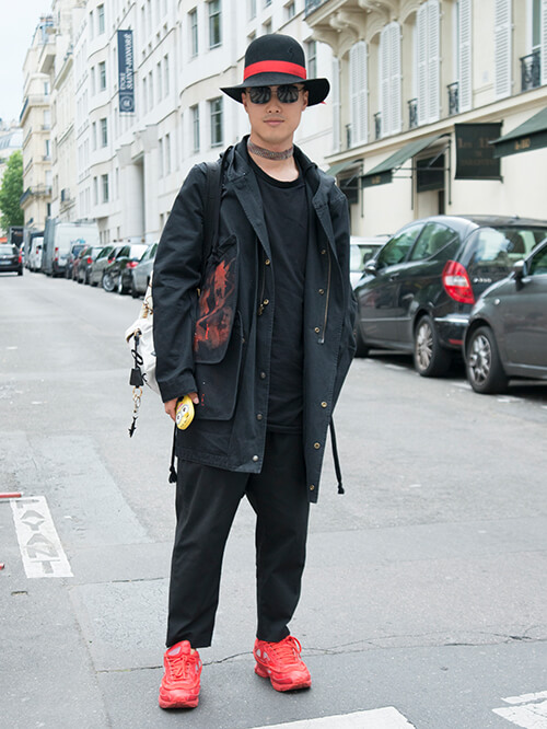Streetstyle Paris, Peter Xu