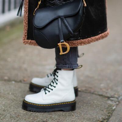 Schnürboots Damen Streetstyle Shoe Fashion