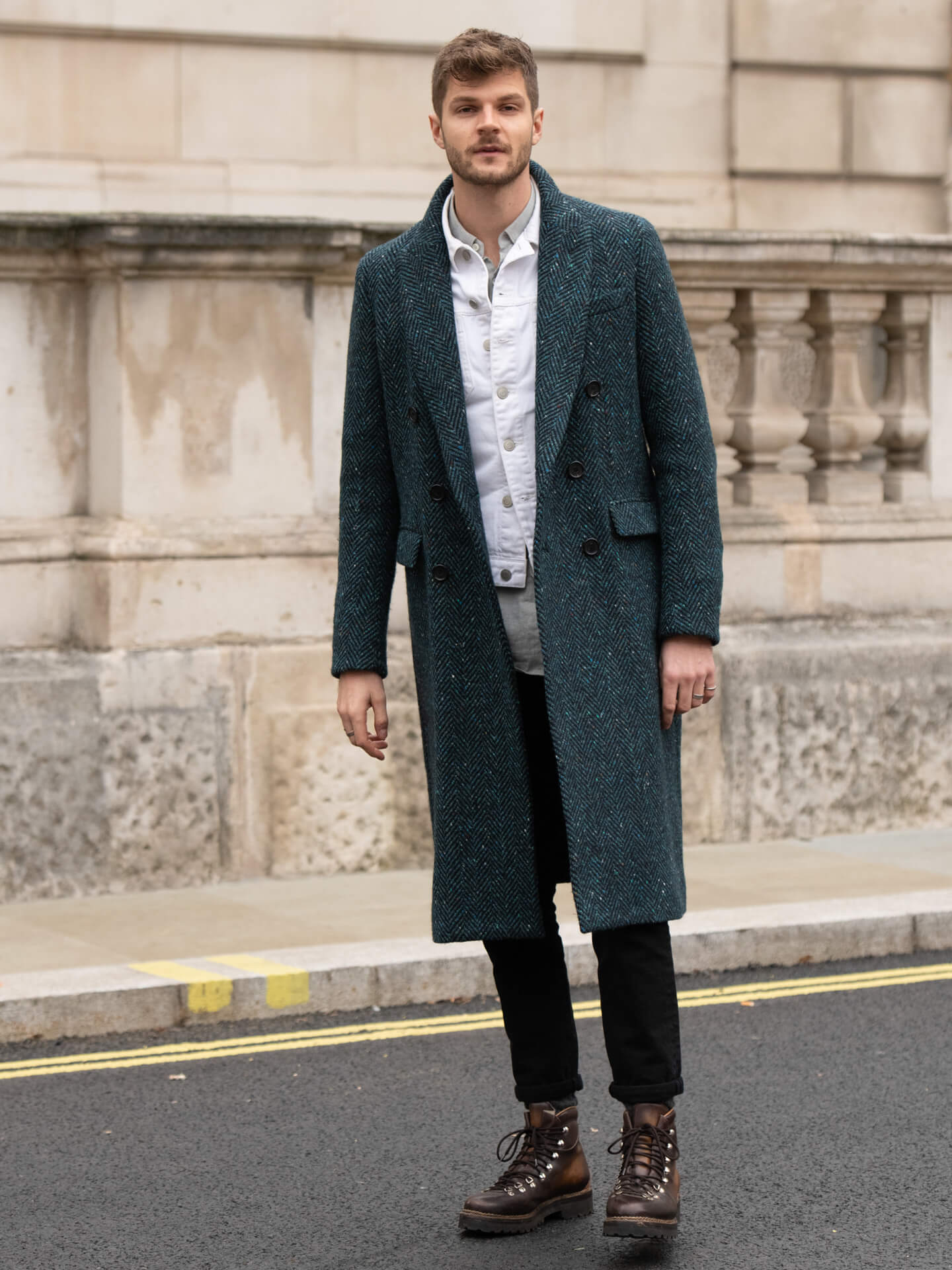 Männer Outfit Jim Chapman Shoe Fashion