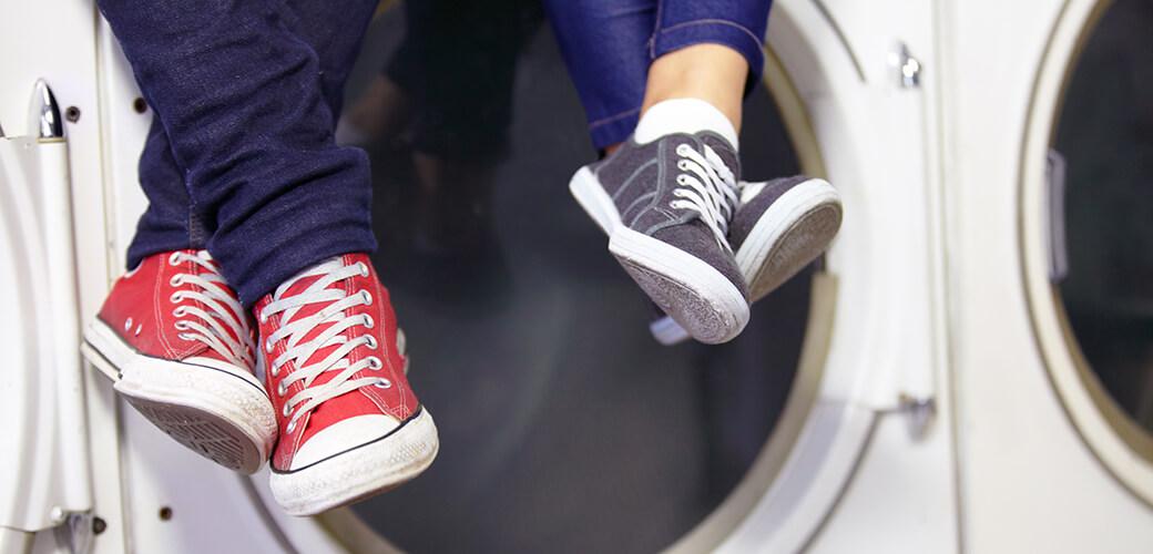 Sneaker-Trend Waschmaschine