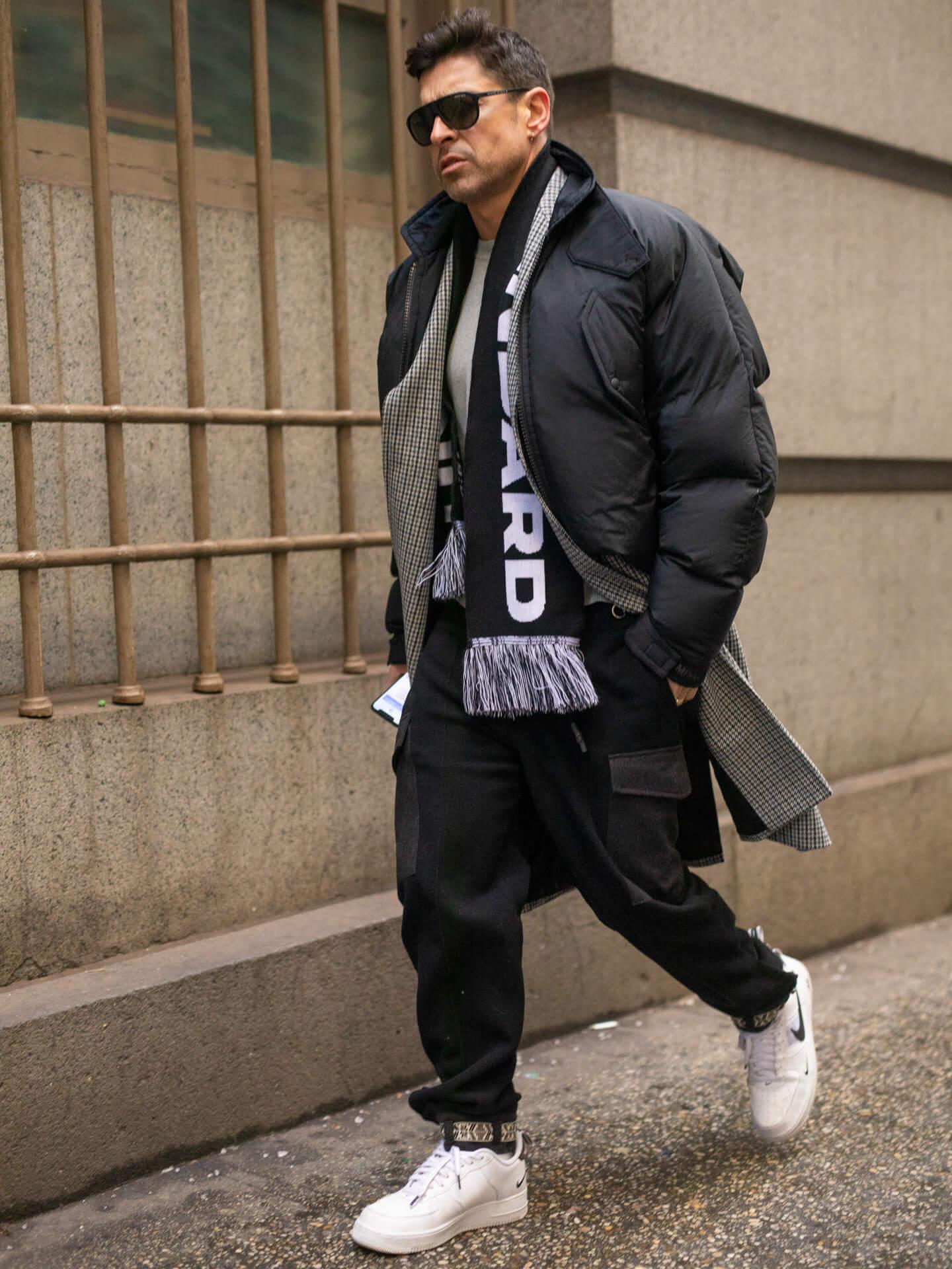 Steppjacke Männer Alex Badia Shoe Fashion