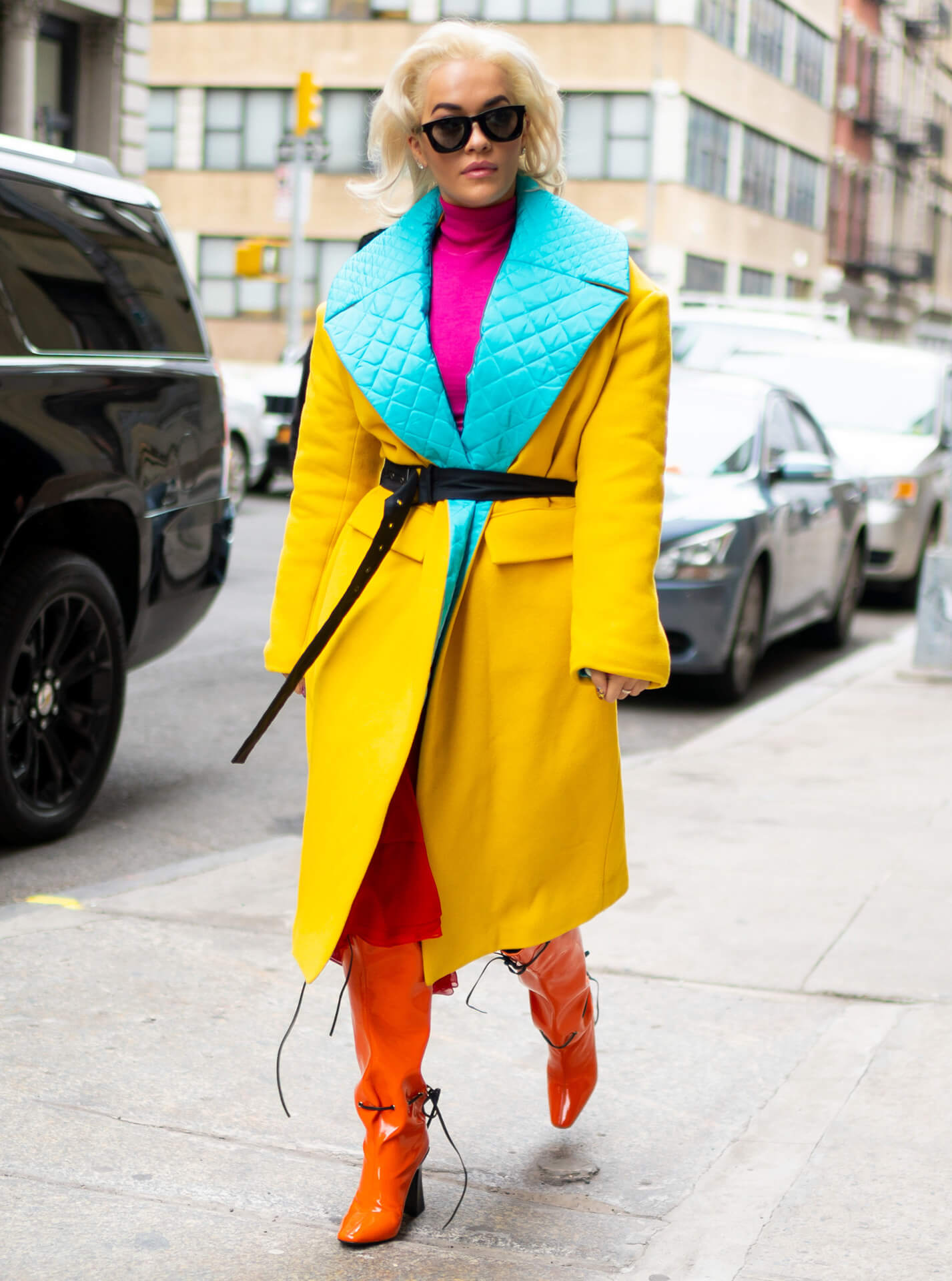Rita Ora Schuhe Streetstyle Shoe Fashion