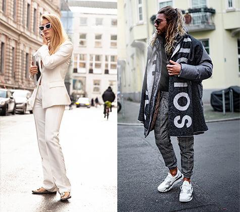 Modeblogger Alexandra Seifert, Lennart Marlon Flottemesch