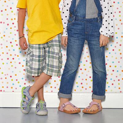 Schuhe für Kinder - Sandalen