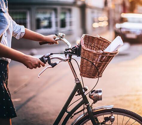 Freizeit-Schuhe für das Fahrrad