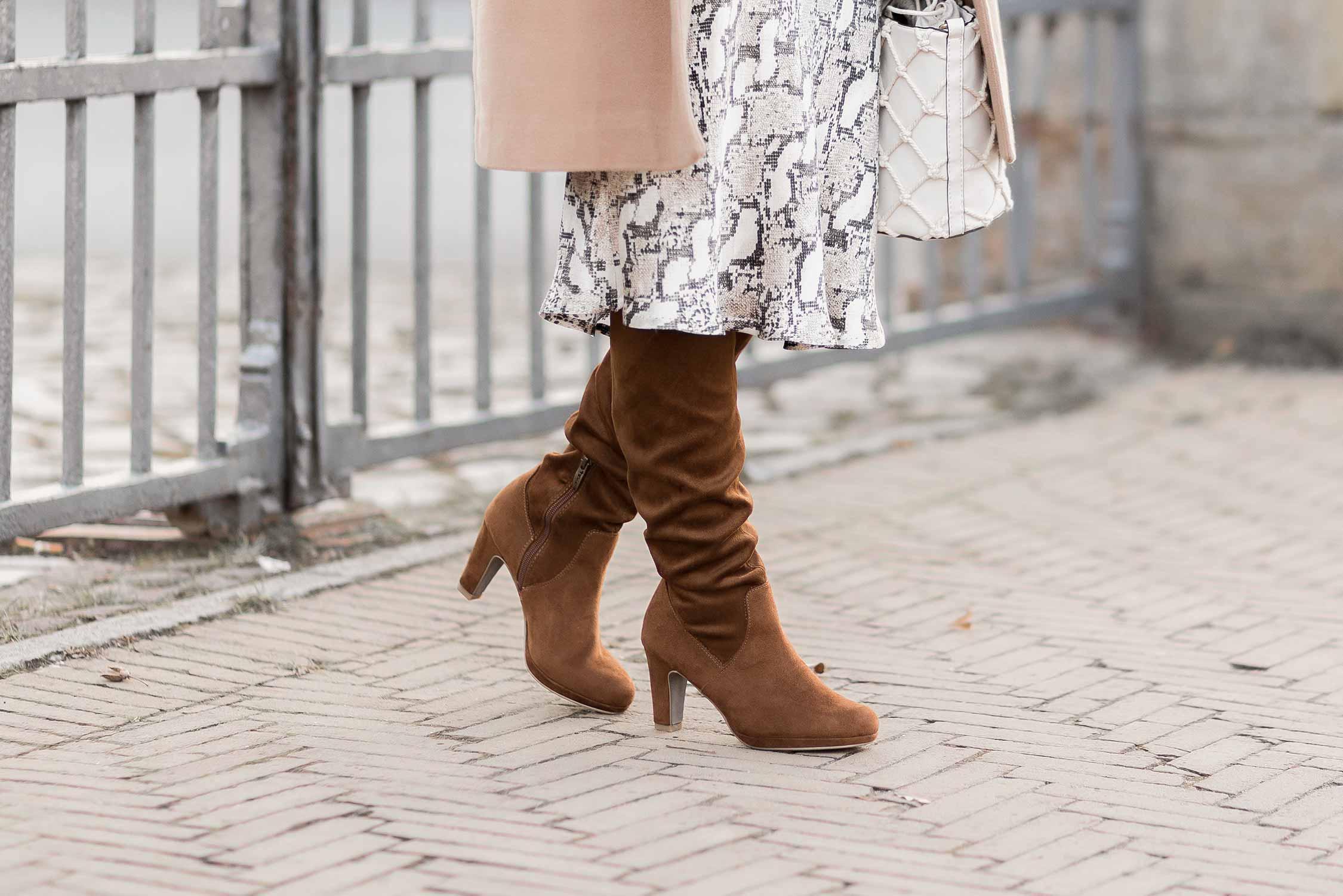Trendschuhe für den Winter 2020, kniehohe Stiefel, Shoelove by Deichmann