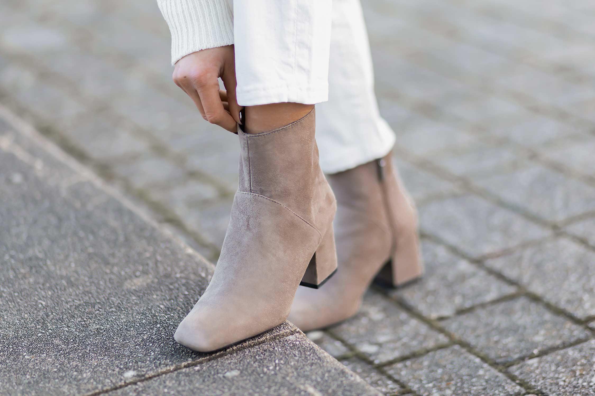 Trendschuhe für den Winter 2020, Square Toe Boots, Shoelove by Deichmann