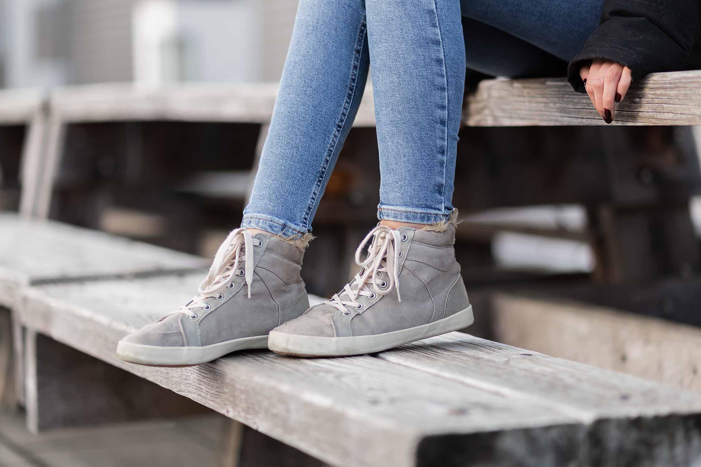 Trendschuhe für den Winter 2020, Wintersneaker, Sneaker mit Fell, Shoelove by Deichmann