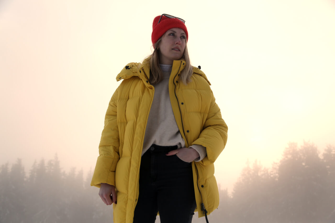 Apres-Ski Outfit Pufferjacke