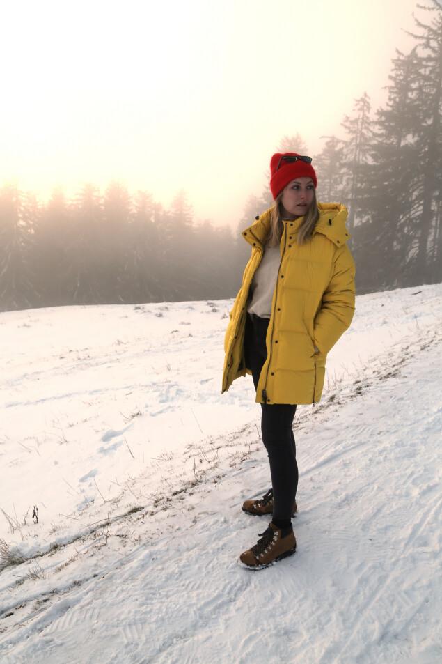 Apres-Ski Outfit Ganzkörper