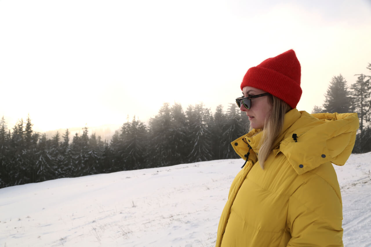 Apres-Ski Outfit Querformat Close-Up