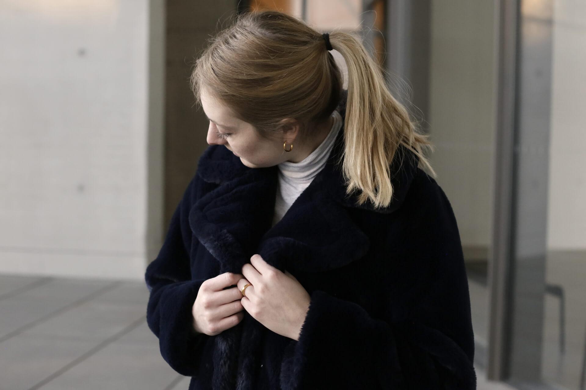 Fake Fur Mantel Details Shoelove Deichmann