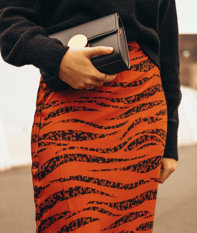 Slip Skirt Kombination