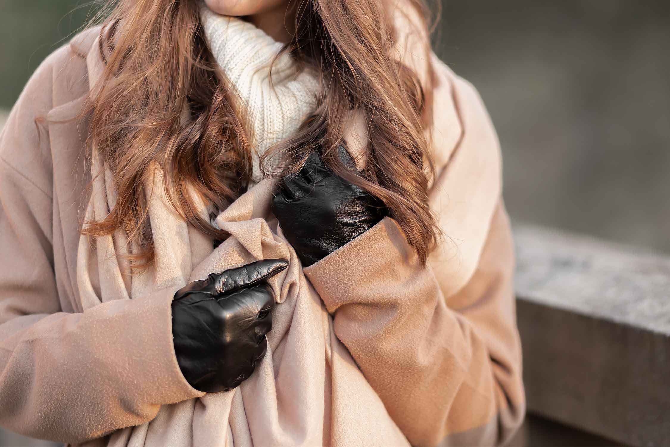 Winter Accessoires Trends, elegante Handschuhe als Eyecatcher, Lederhandschuhe, Shoelove by Deichmann