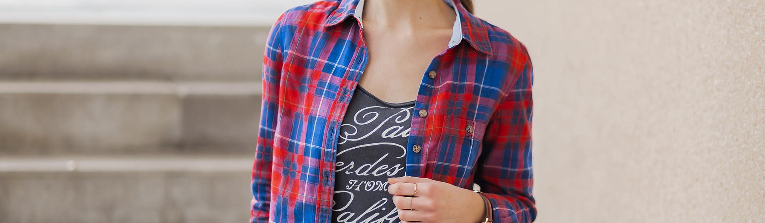 Karierte Hemden sind wieder im Trend Shoelove by Deichmann