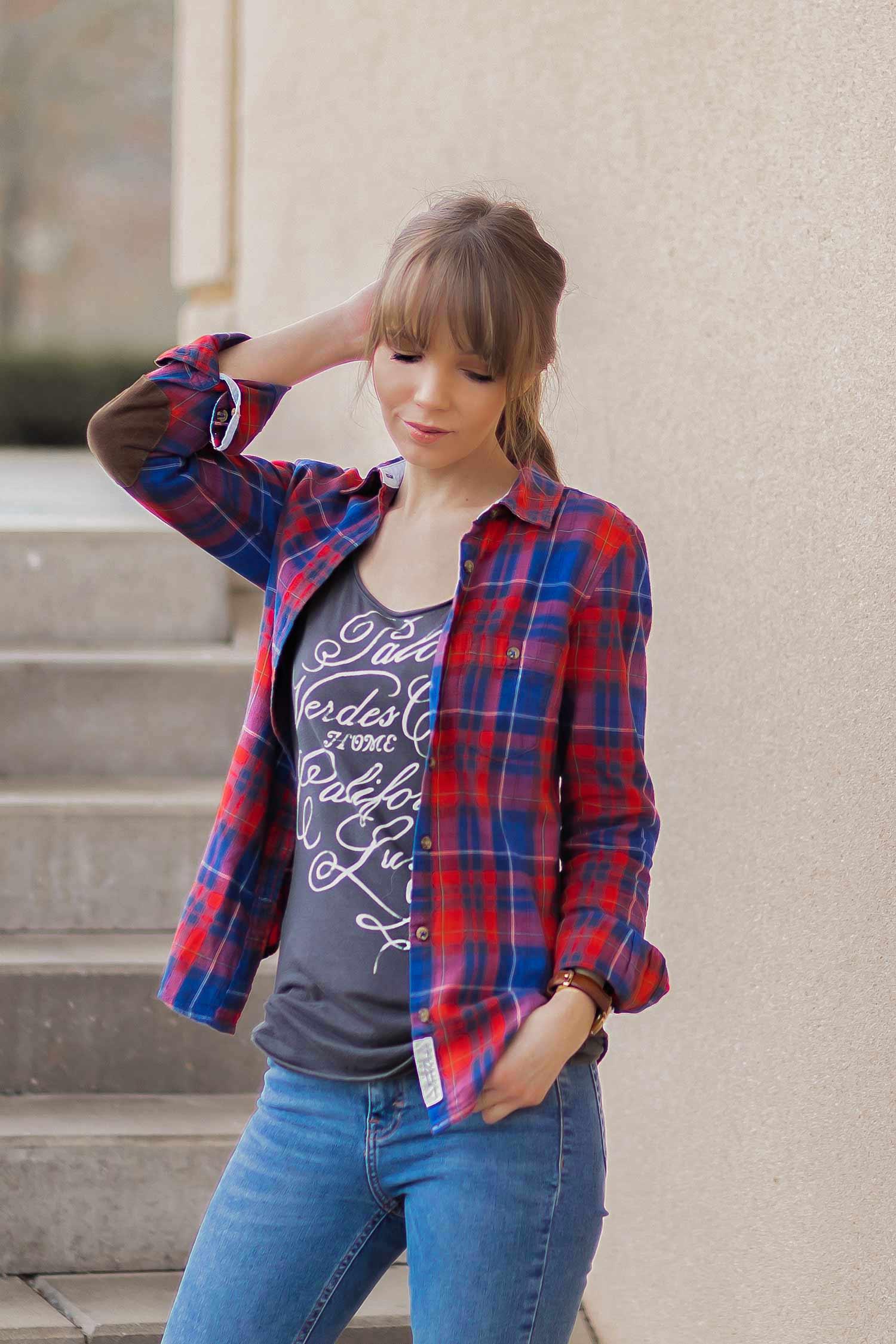 Karierte Hemden stylen, Karohemd Trend, Shoelove by Deichmann