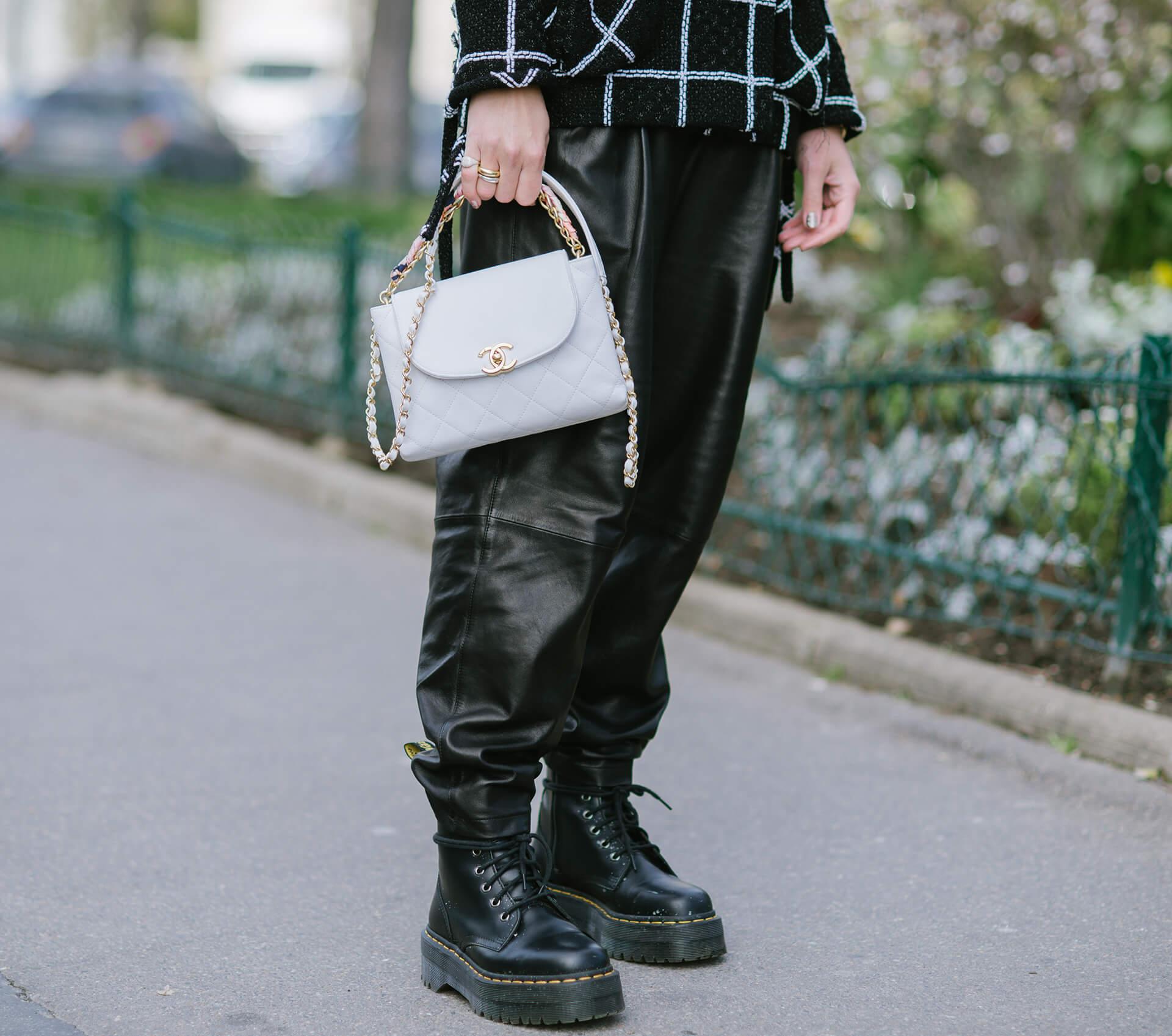 Combat Boots, Streetstyle Paris, Jen Azoulay