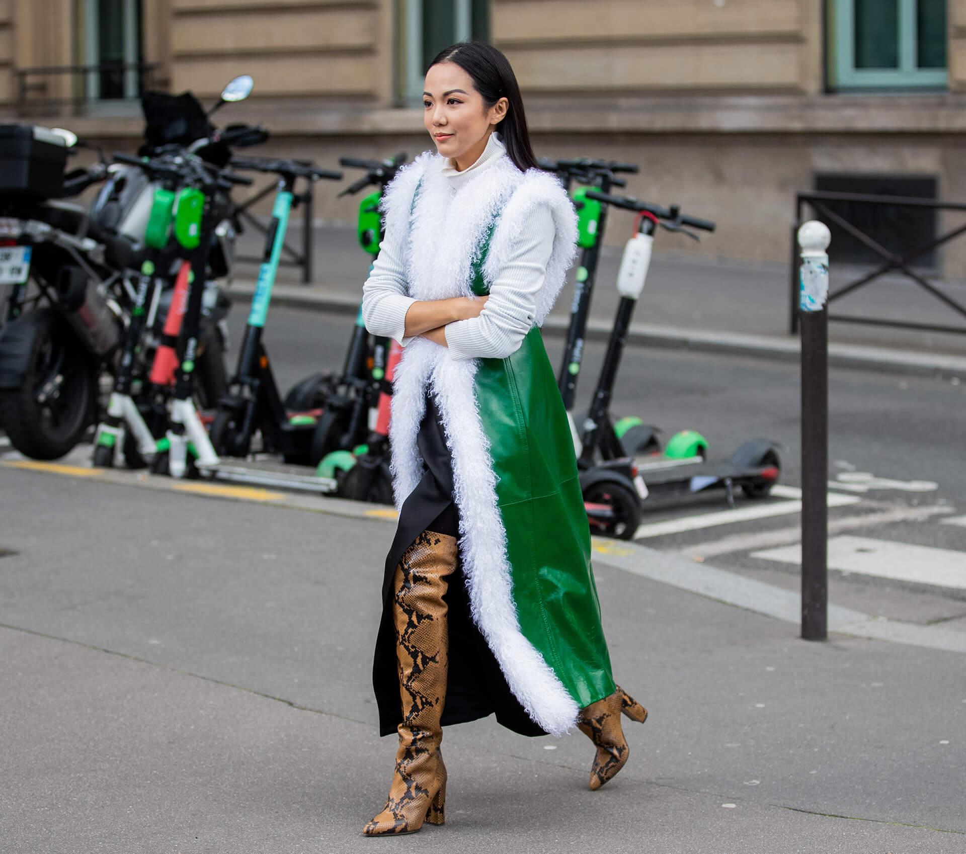 Overknees, Streetstyle Paris, Yoyo Cao