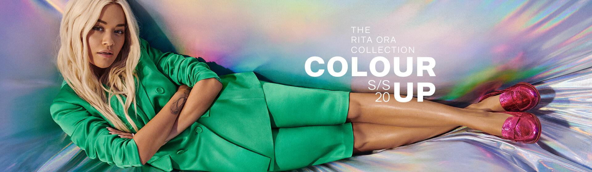 Rita Ora for DEICHMANN