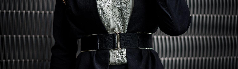 Blazer mit Gürtel