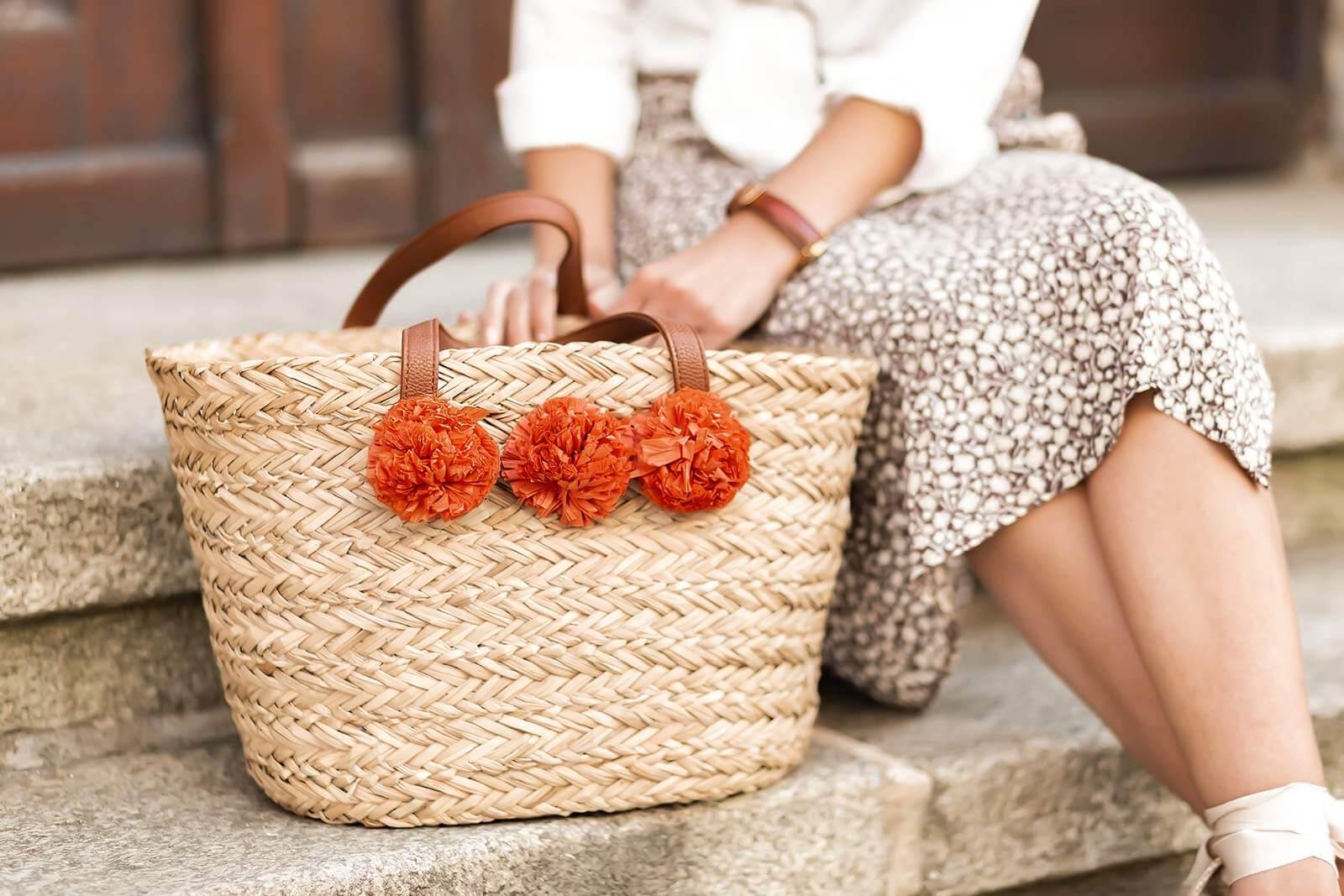 Sommer Taschen, Trend Taschen 2020, Taschen aus Naturmaterialien, Korbtaschen, Strohtaschen, Shoelove by Deichmann
