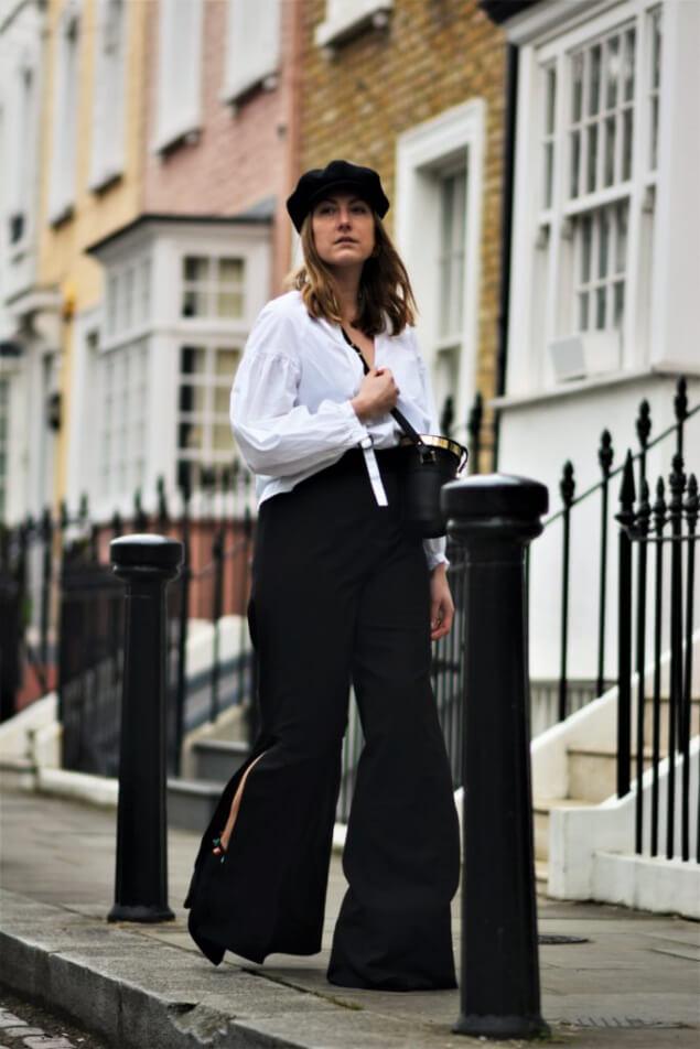 Shoelove Marlenehose Frühlingslook London Streetstyle
