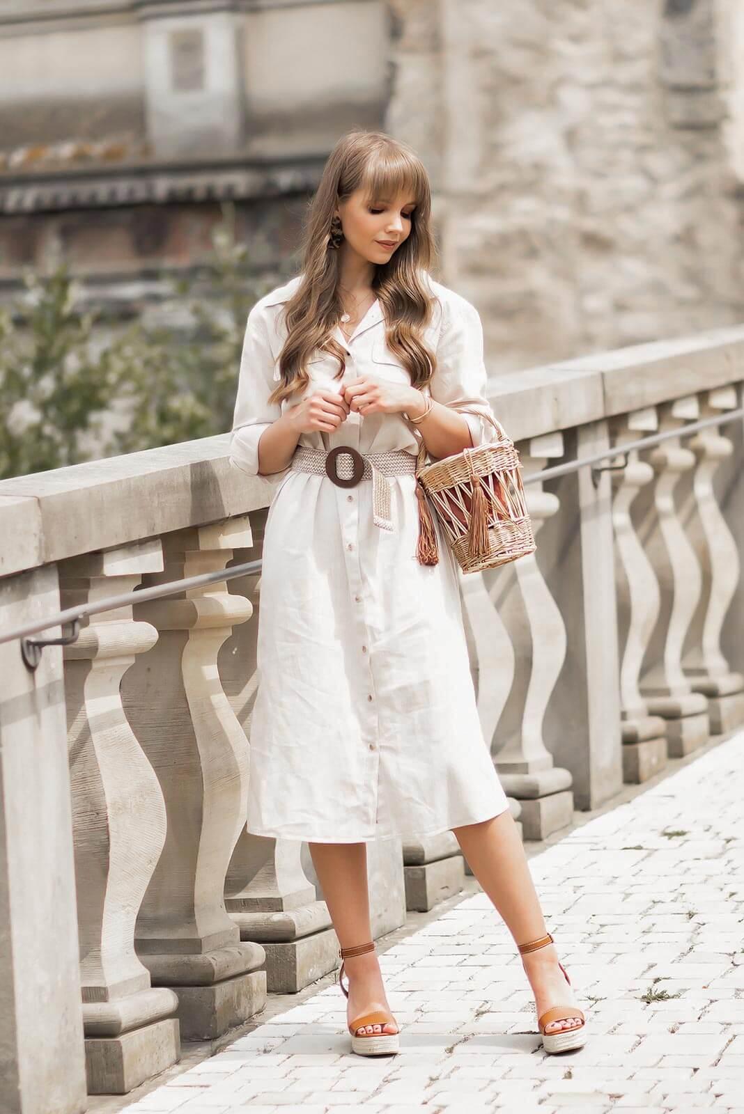 Sommerkleider 2020, Kleider Trends für den Sommer, Hemdkleider, Leinenkleider, Shoelove by Deichmann