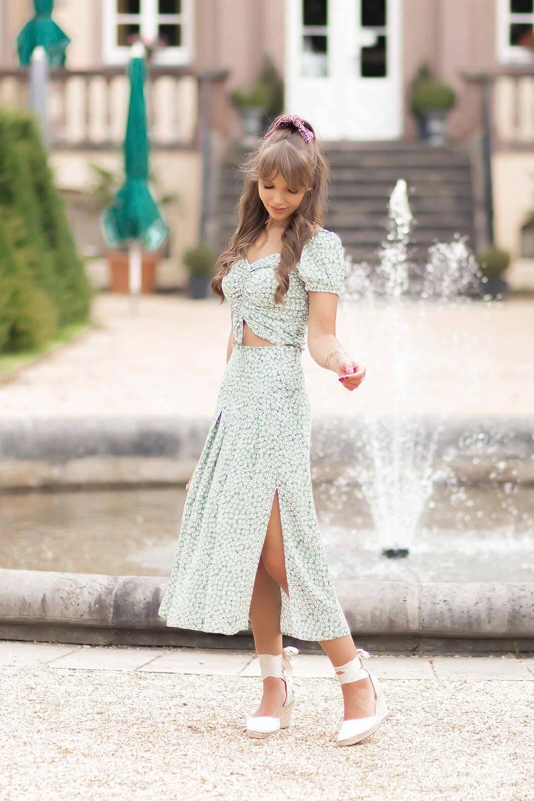 Zweiteiler im Sommer, Kleidertrend, Zweiteilige Kleider stylen, Sommertrend 2020, Kleider in Pastellfarben, Shoelove by Deichmann