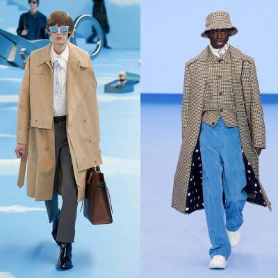 Büro Outfit, Runways von Louis Vuitton, Paul Smith