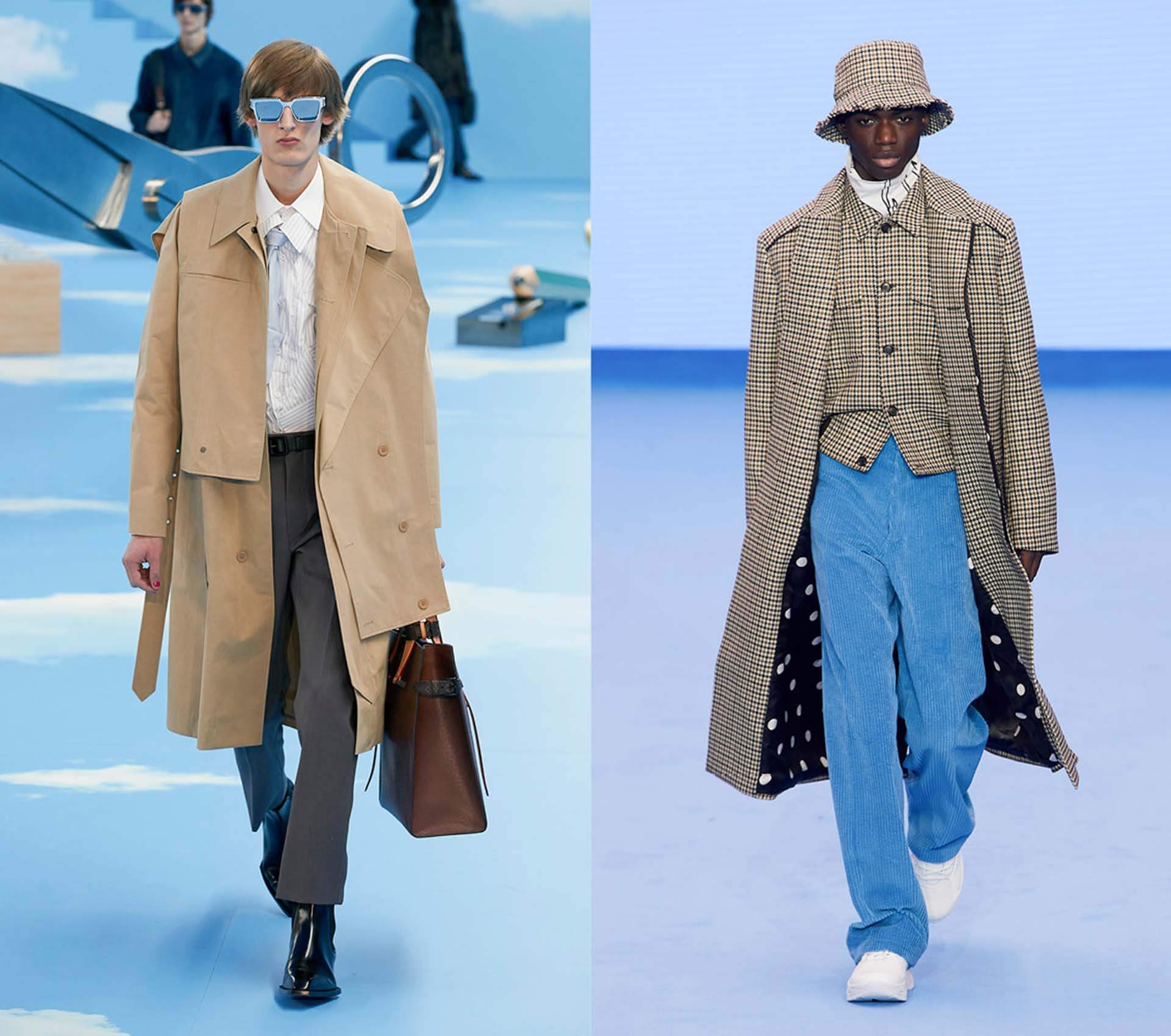 Büro Outfit, Runways von Louis Vuitton, Paul Smith