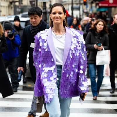 Party Looks, Streetstyle Paris, Helena Bordon