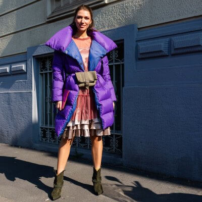 Herbst Outfit, Streetstyle Mailand