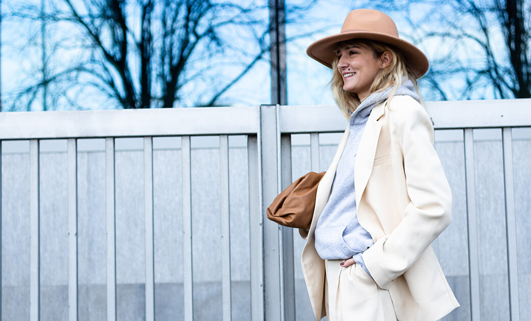 Bequeme Kleidung, Streetstyle Mailand