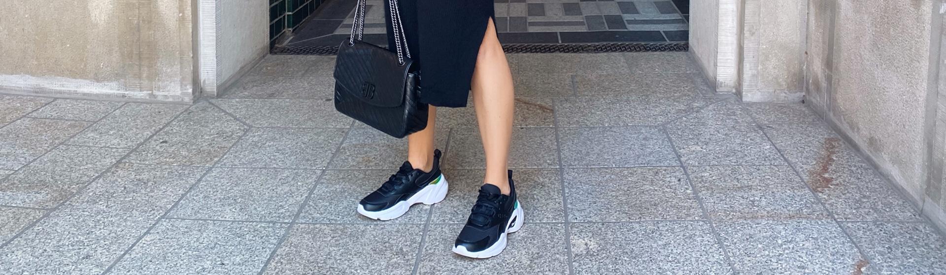 Sneaker im Herbst