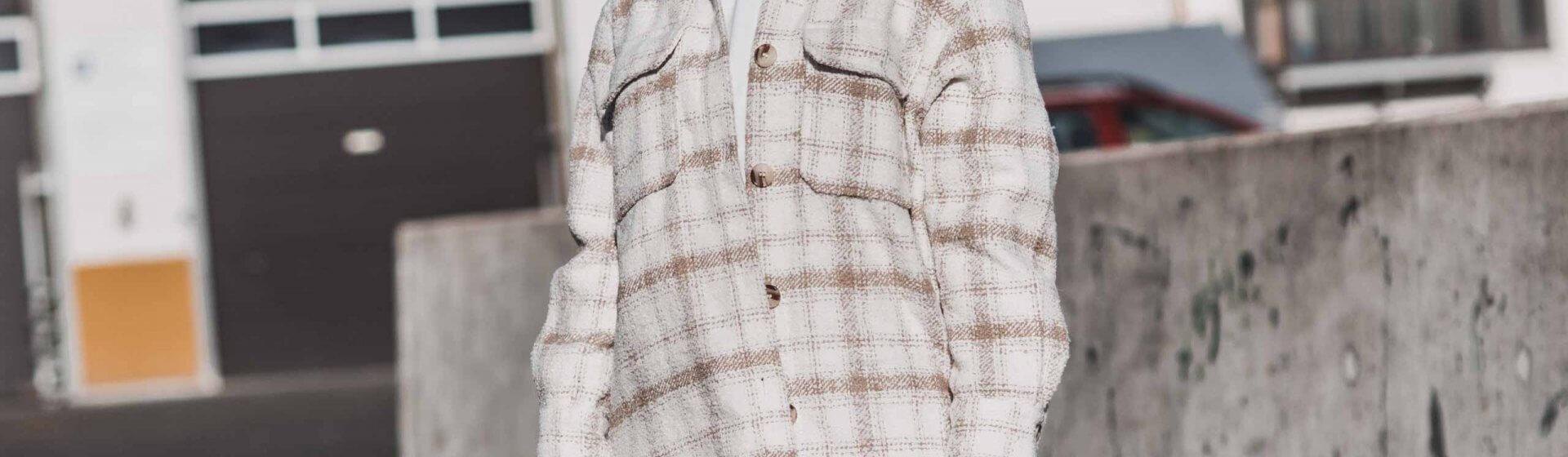 Jackentrend Karo Shacket - so tragen wir ihn Shoelove Deichmann