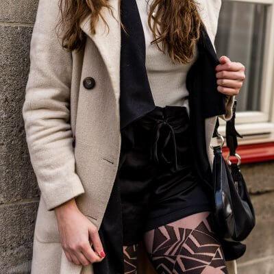 Shorts im Herbst und Winter tragen