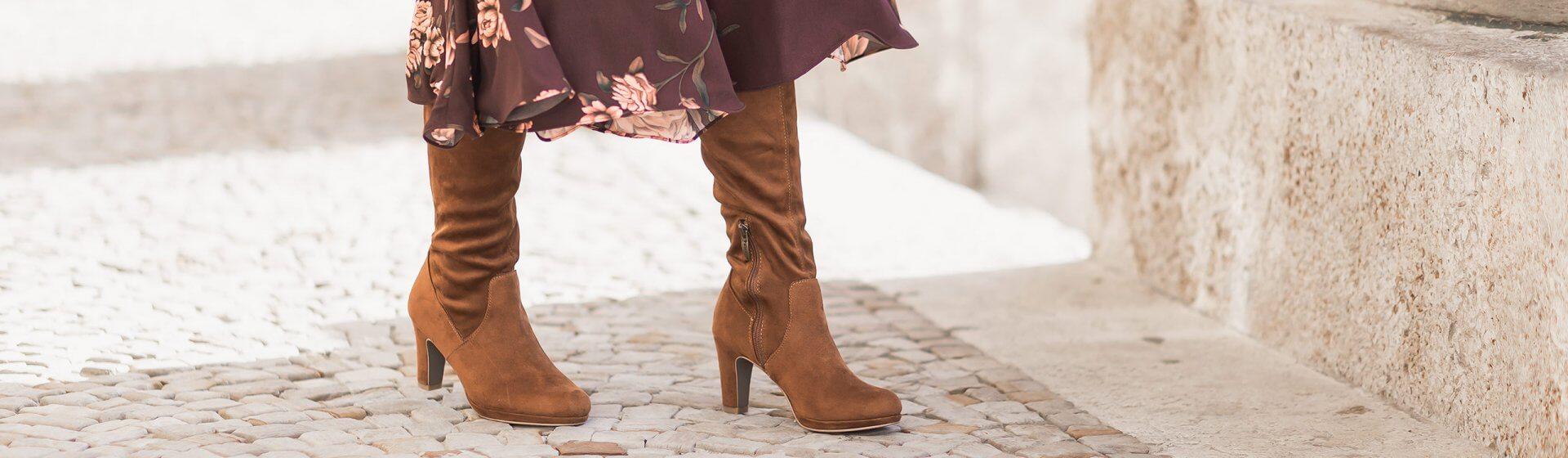 Stiefel Trends 2020, Wildlederstiefel, Shoelove by Deichmann