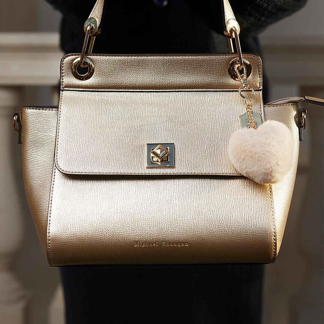 Tasche in Gold