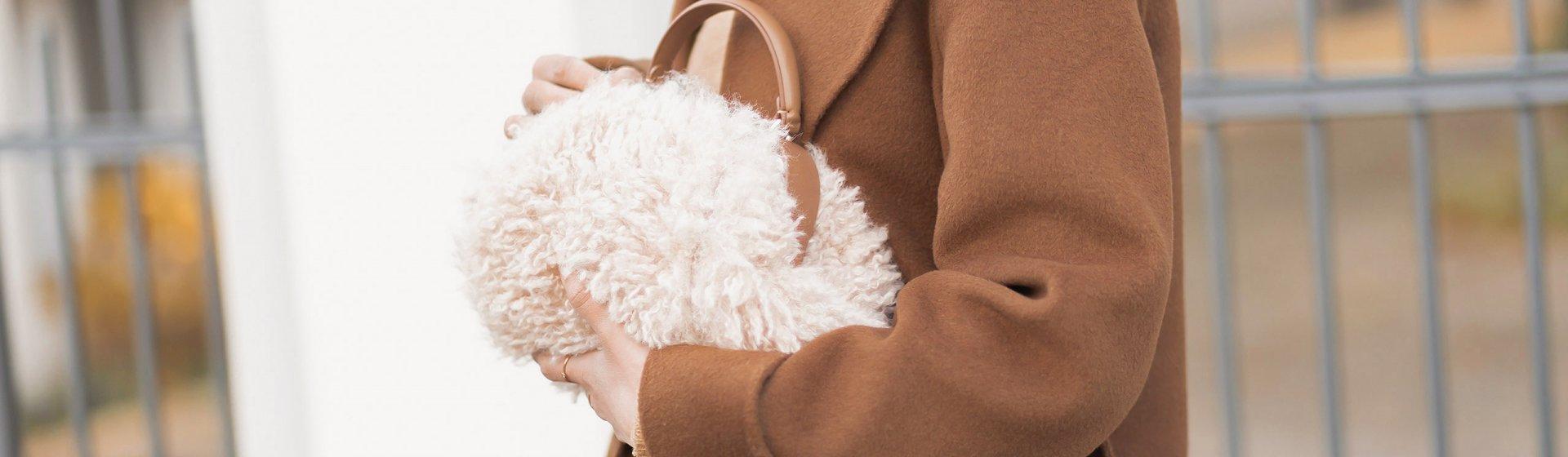 Kunstfelltaschen kombinieren, Fake Fur Bags, Wintertrend, Winteraccessoire, Shoelove by Deichmann